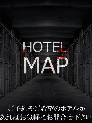 五反田受付周辺のホテルマップ